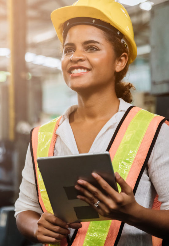 Woman Construction Manager